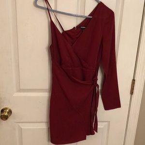 Express one shoulder dress size 0